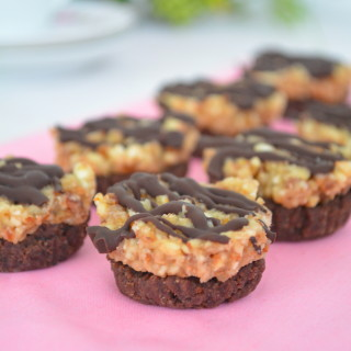Almond Caramel Cacao Bites