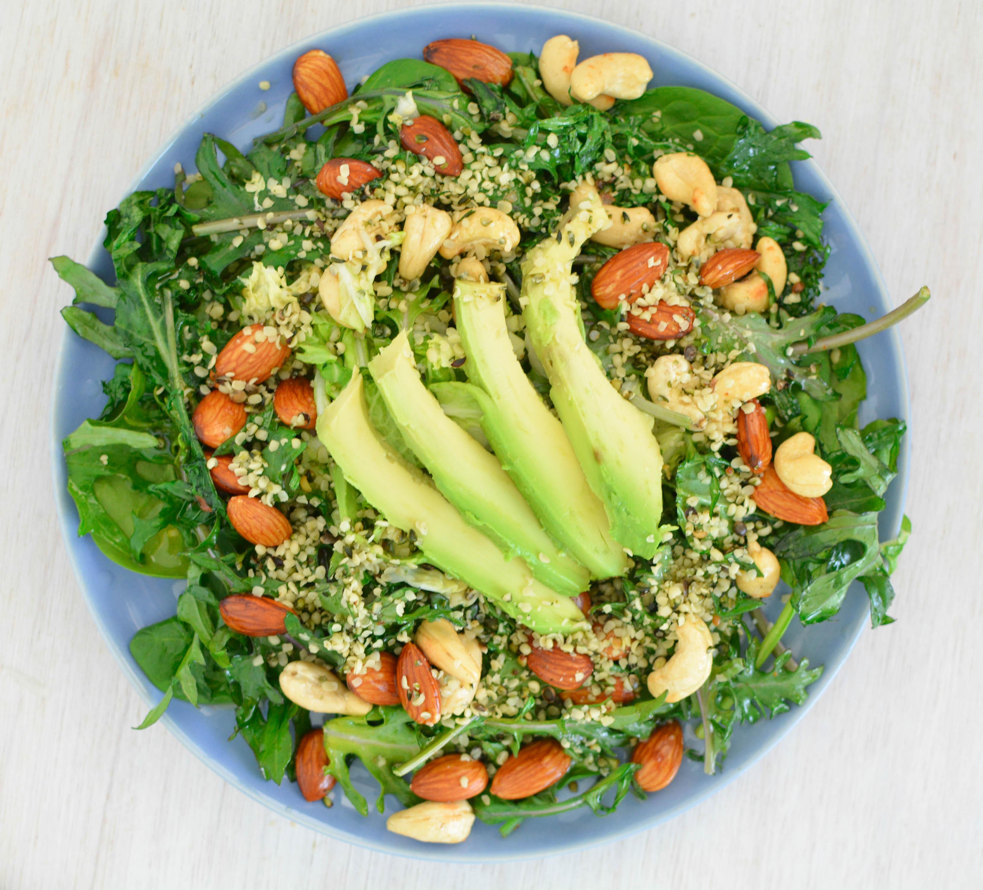 Green Hemp Salad