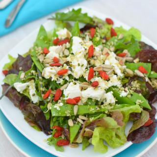 Greens and Goji Salad 2