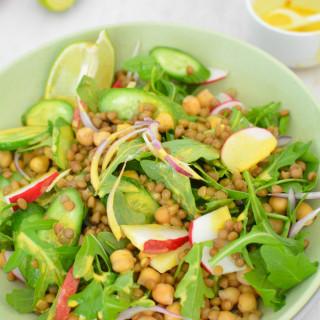 Turmeric Lentil Salad