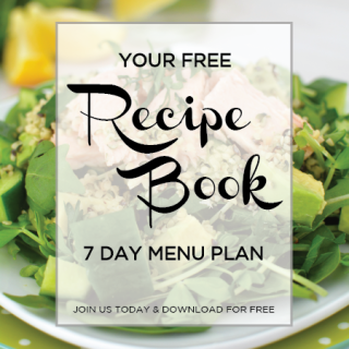 Free 7 Day Recipe EBook