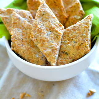 Grain Free Cracker Recipe