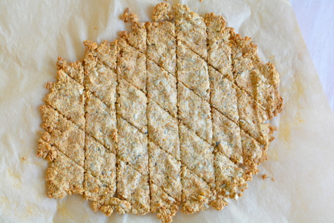 Grain Free Crackers Rolled