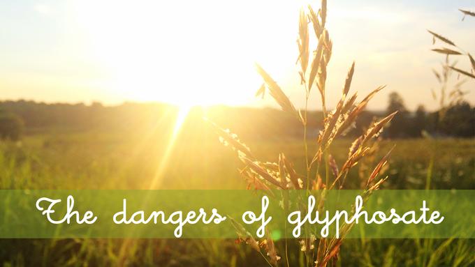 dangers of glyphosate