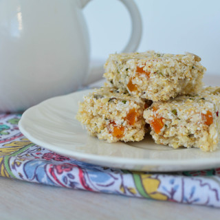 apricot amaranth bars