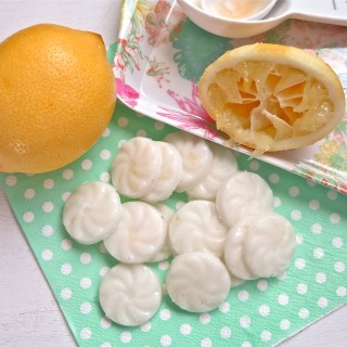 lemon coconut drops