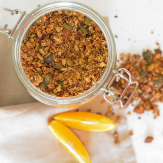 Orange Pistachio Granola
