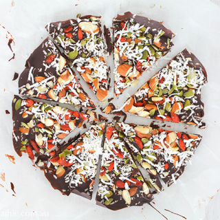 Chocolate Pizza Bark