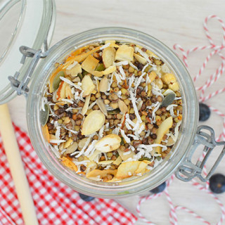 Coconut Buckwheat Muesli