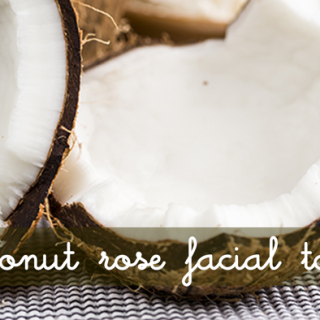 Coconut Rose Facial Toner