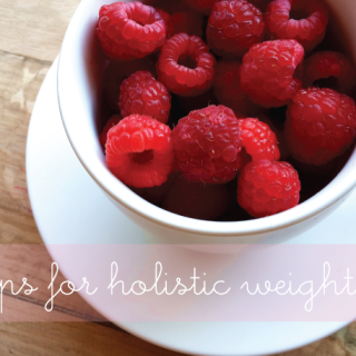 10 Tips for Holistic Weight Loss