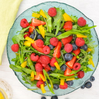 summer berry salad