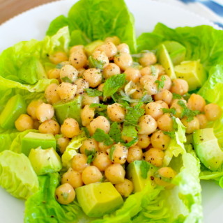 Crispy Chickpea Salad Recipe