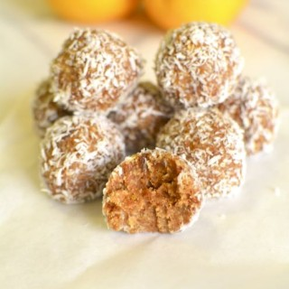 Orange Oat Bliss Balls